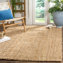 Load image into Gallery viewer, Bombax Jute Woven Natural Rug