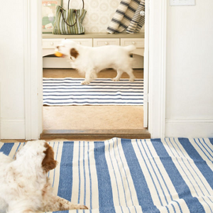 Staffordshire Stripe Woven Cotton Rug