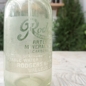 The Rodgers Seltzer Bottle