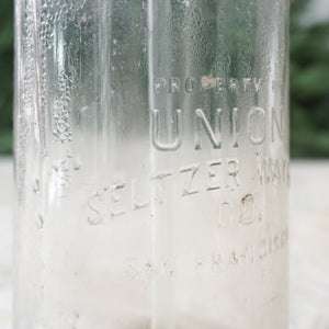 The Union Seltzer Bottle