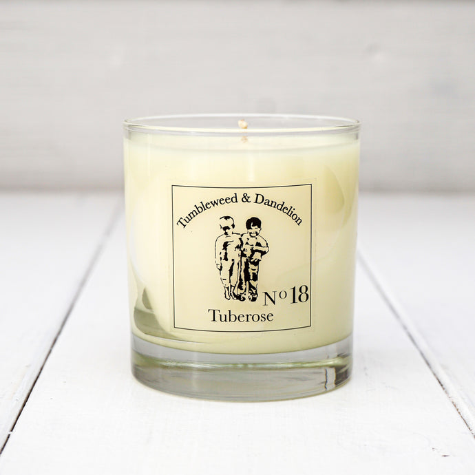 Tuberose Scented T&D Candle