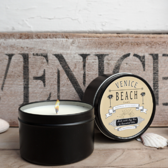 Venice Beach Candle Travel Tin