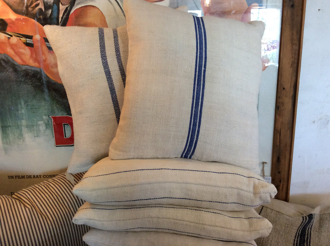Grain bag fabric pillow
