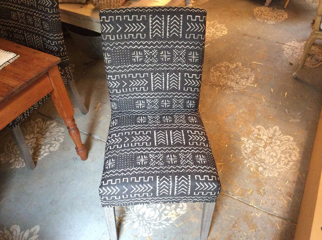 African dining chair