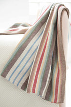 Load image into Gallery viewer, Ranch Stripe Woven Cotton Throw
