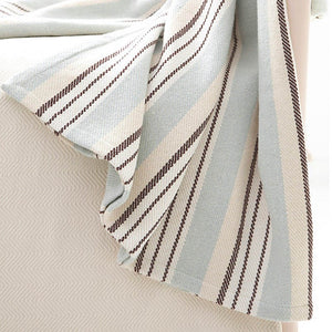 Vanilla Sky Woven Cotton Throw