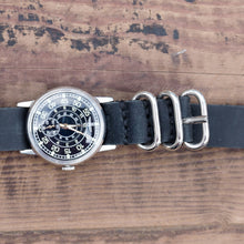 Load image into Gallery viewer, Commander's Vintage Leather Watch