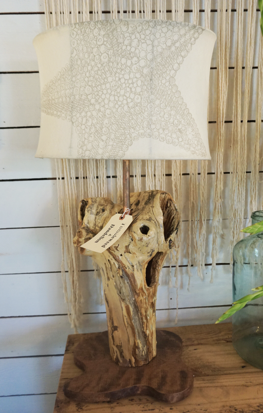 Malibu Driftwood Lamp by Paul Neuhaus
