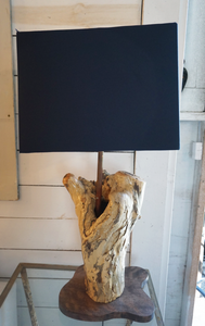 Venice Driftwood Lamp by Paul Neuhaus