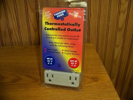Theromostatically Controlled Outlet-Thermo Cube