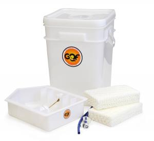 5 gallon automatic water pail for humidity of cabinet incubator