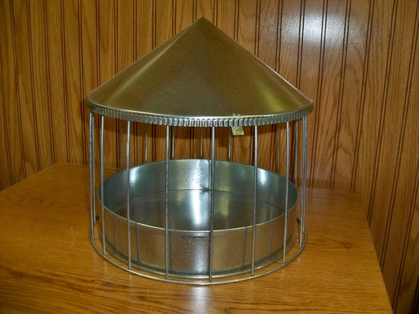 314  Galvanized Feeder-Waterer