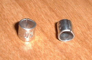 Size 9 Butt End Aluminum Leg Bands