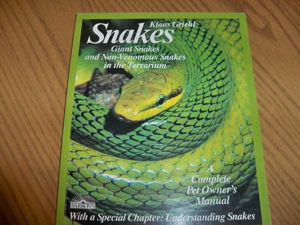 BKM26 Complete Pet Owners Snakes