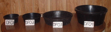 DF02  Dura Flex Rubber Tub 4 Quart