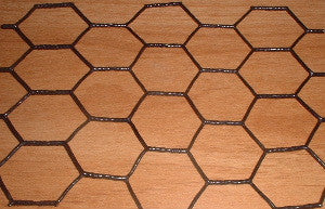 1' PVC Coated Hex Wire 7x100