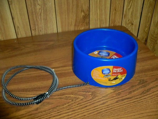 Heat 1.5 Gallon Heated Pet Bowl