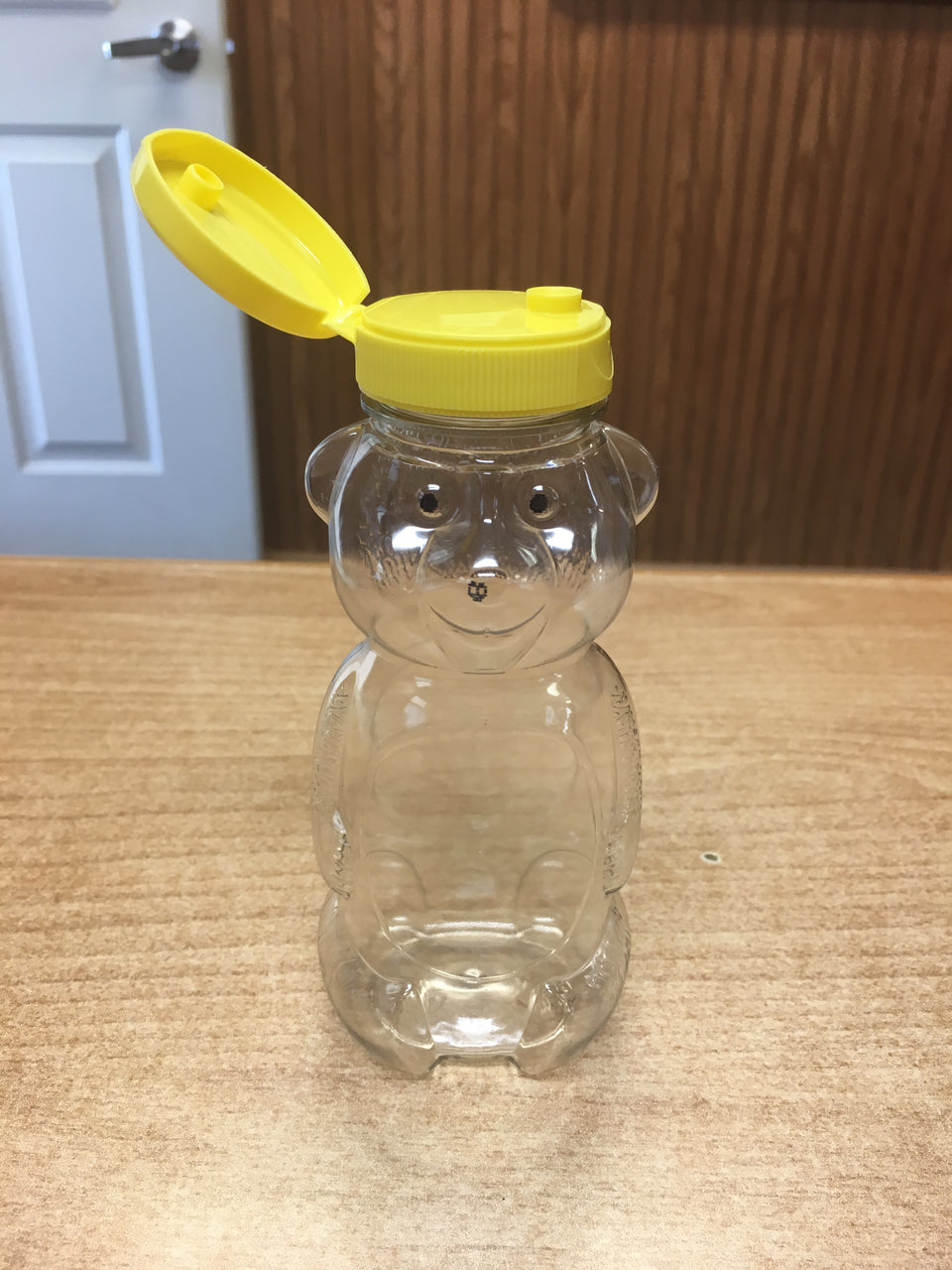BZ512 PETE Plastic Bear Jars 12oz