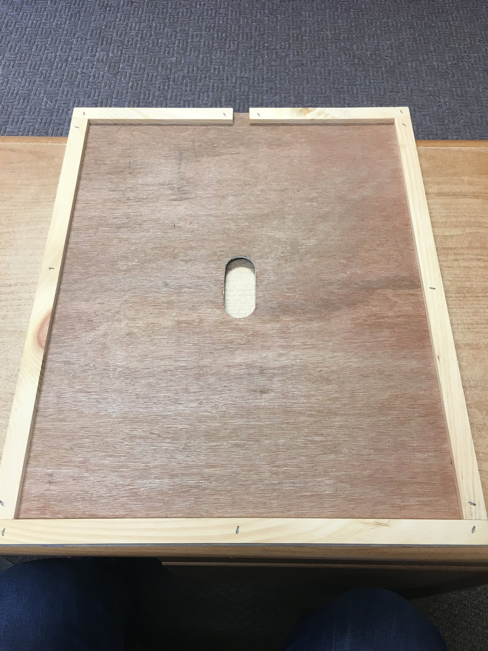 BZ92  Wooden Inner Cover for 10 frame hive