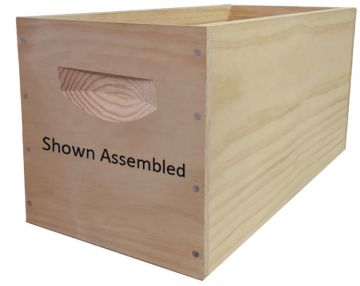 Deep Wooden Nuc Box (Unassembled, Box Only)