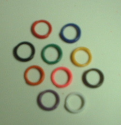 Spiral Plastic Bands Assorted Size 4-11
