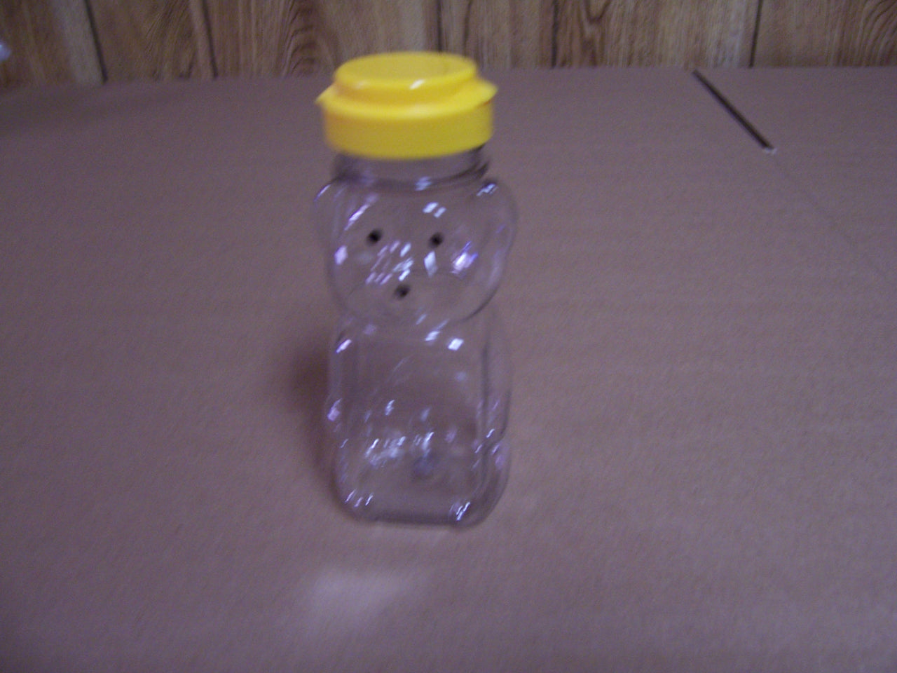 BZ56 PETE Plastic Bear Jars 8oz