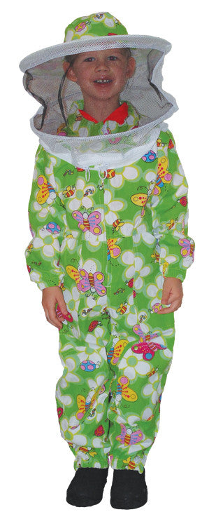 BZYES  Child Economy Bee Suit Green