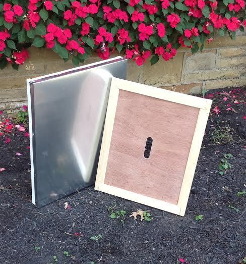 BZ923  Wooden Outer & Inner Cover Combo for 10 frame hive