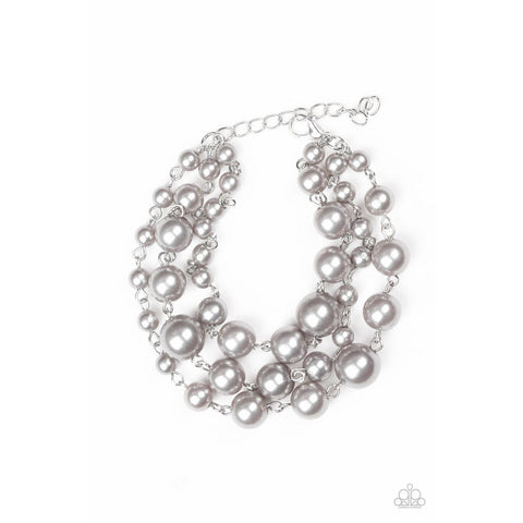 Until The End Of TIMELESS – Silver Bracelet Paparazzi Jewelry Accessories