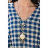 Majestic Mountaineer - White Necklace Fashion Fix
