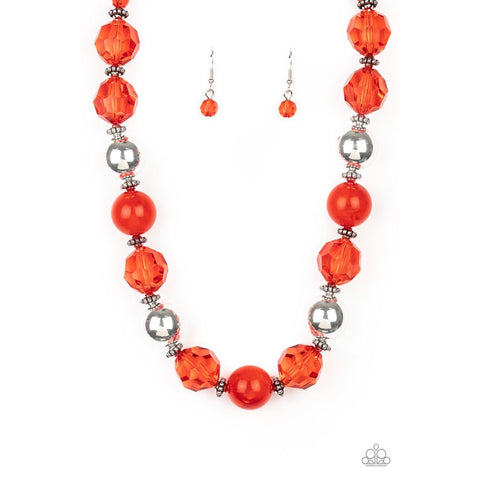 Very Voluminous – Red Necklace