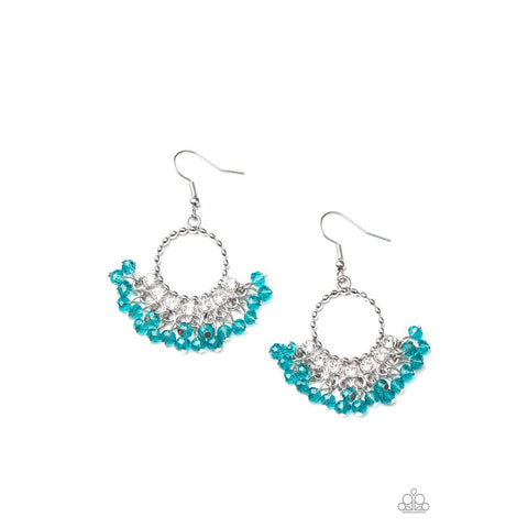 Charmingly Cabaret – Blue Earrings
