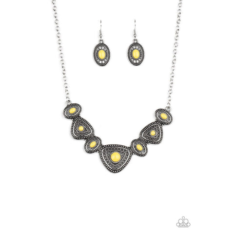 Totally TERRA-torial – Yellow Necklace