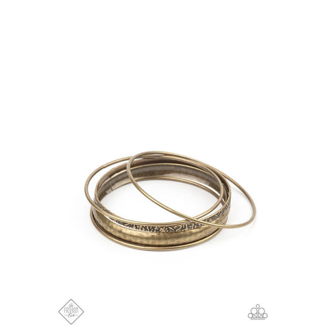 Get Into Gear - Brass Bracelet Fashion Fix
