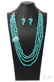Paparazzi Maverick 2018 Zi Collection Turquoise Necklace