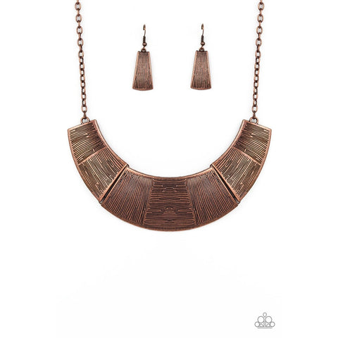 More Roar – Copper Necklace
