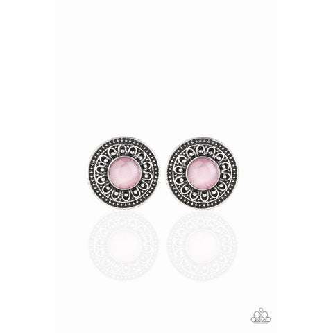 Fine Flora – Pink Earrings