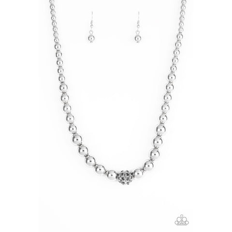 High-Stakes FAME - Silver Necklace