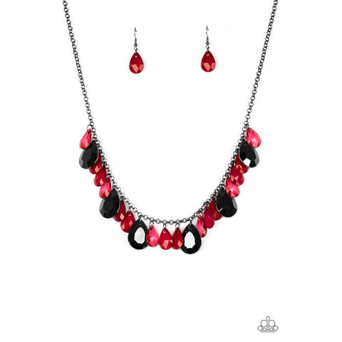Hurricane Season – Red necklace
