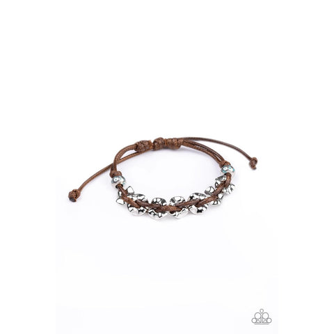 Ride The Rails - Brown Urban Bracelet