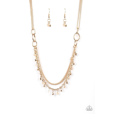 Financially Fabulous - Gold Necklace