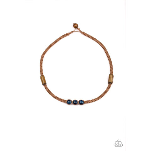 Honolulu Hustler - Blue Urban Necklace