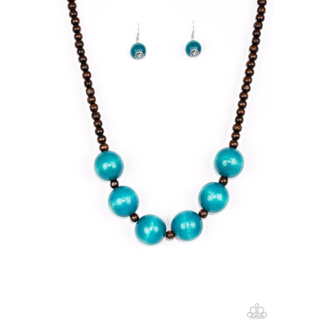 Oh My Miami - Blue Necklace