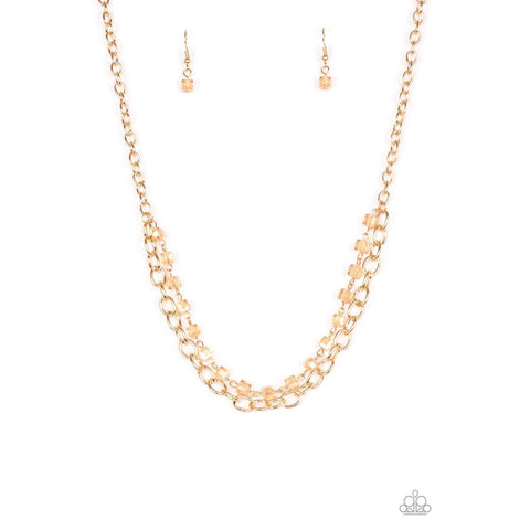 Block Party Princess – Gold Necklace