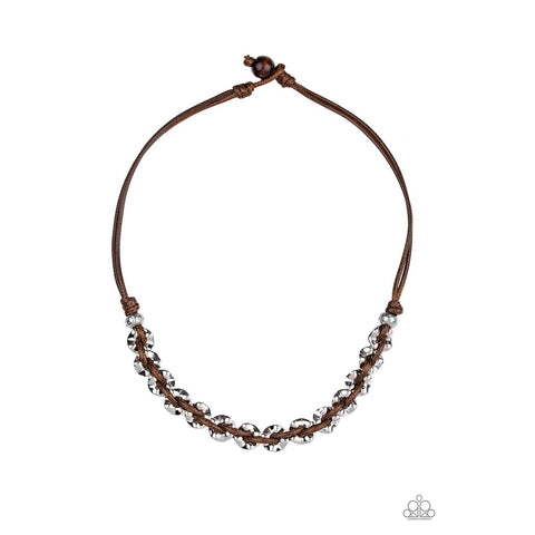 Joy Riding - Brown Necklace