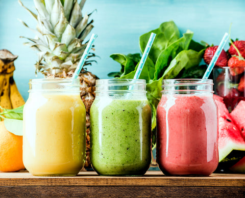 Healthy nutritious smoothies