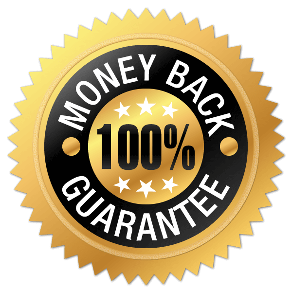 100% Money Back Quarantee