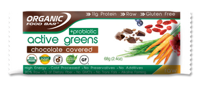 Active Greens + Probiotic - Chocolate Covered