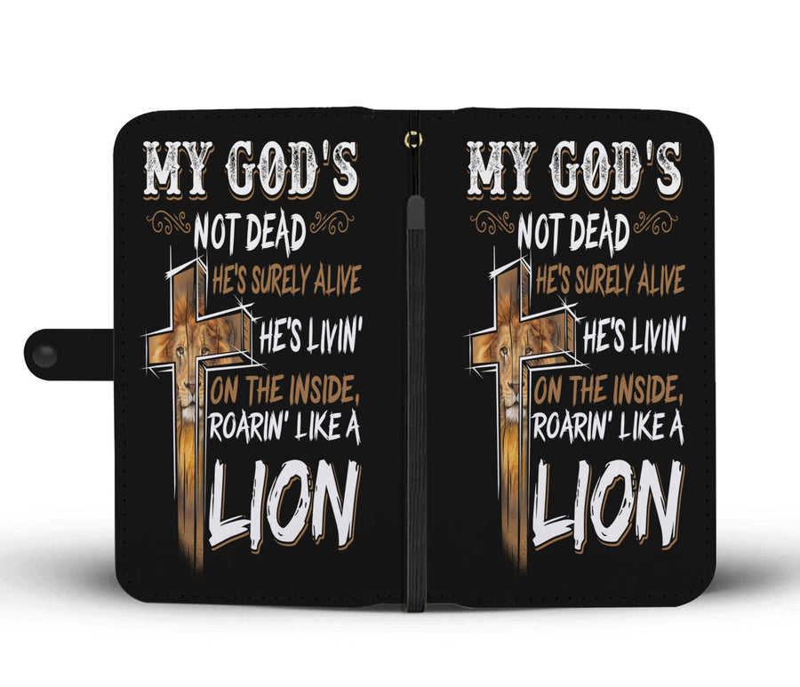 My God is Not Dead - Phone Wallet