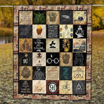Exclusive HP Platform Quilt Blanket